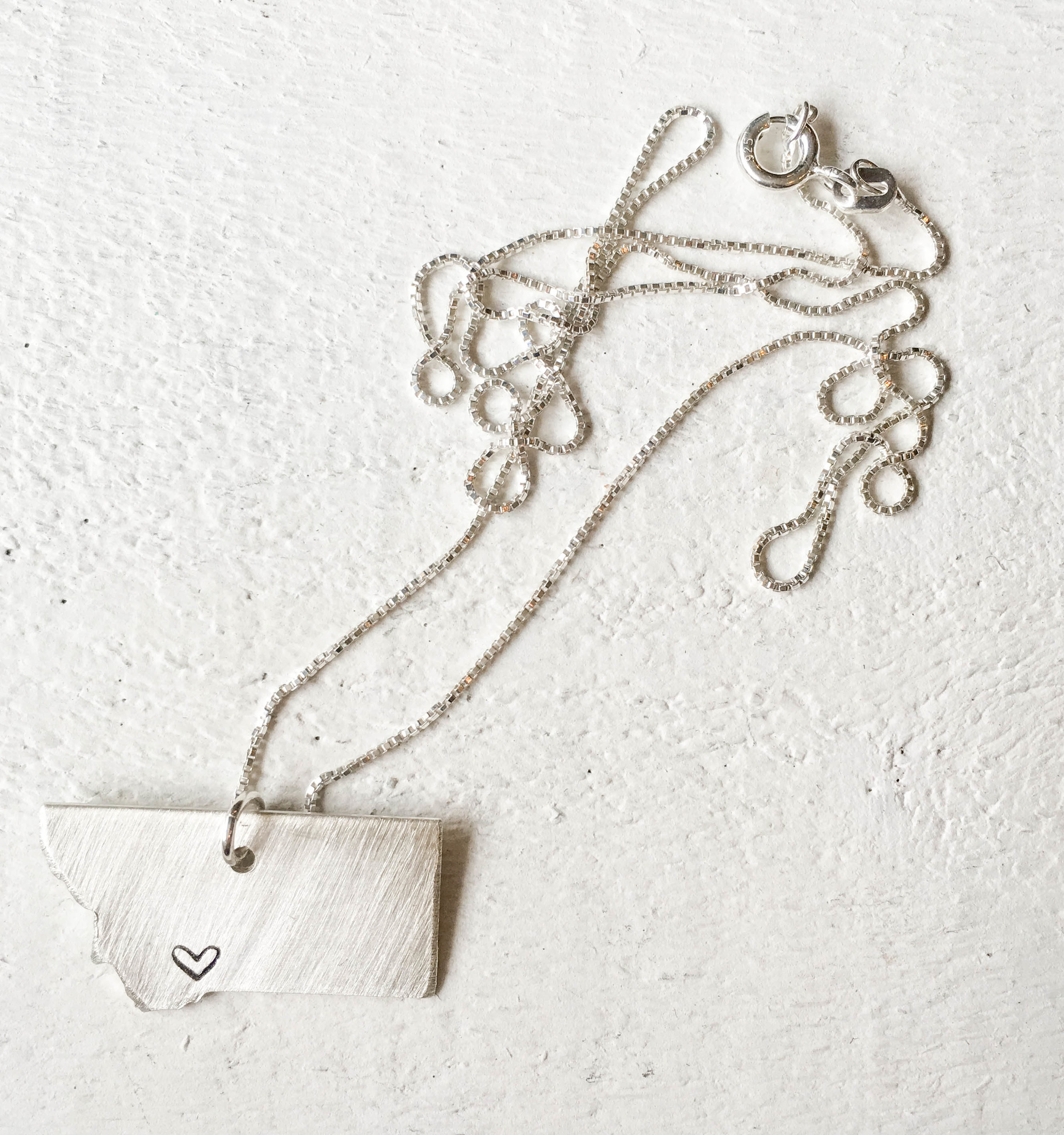 Montana pendant, one of the most popular items at Hattie Rex