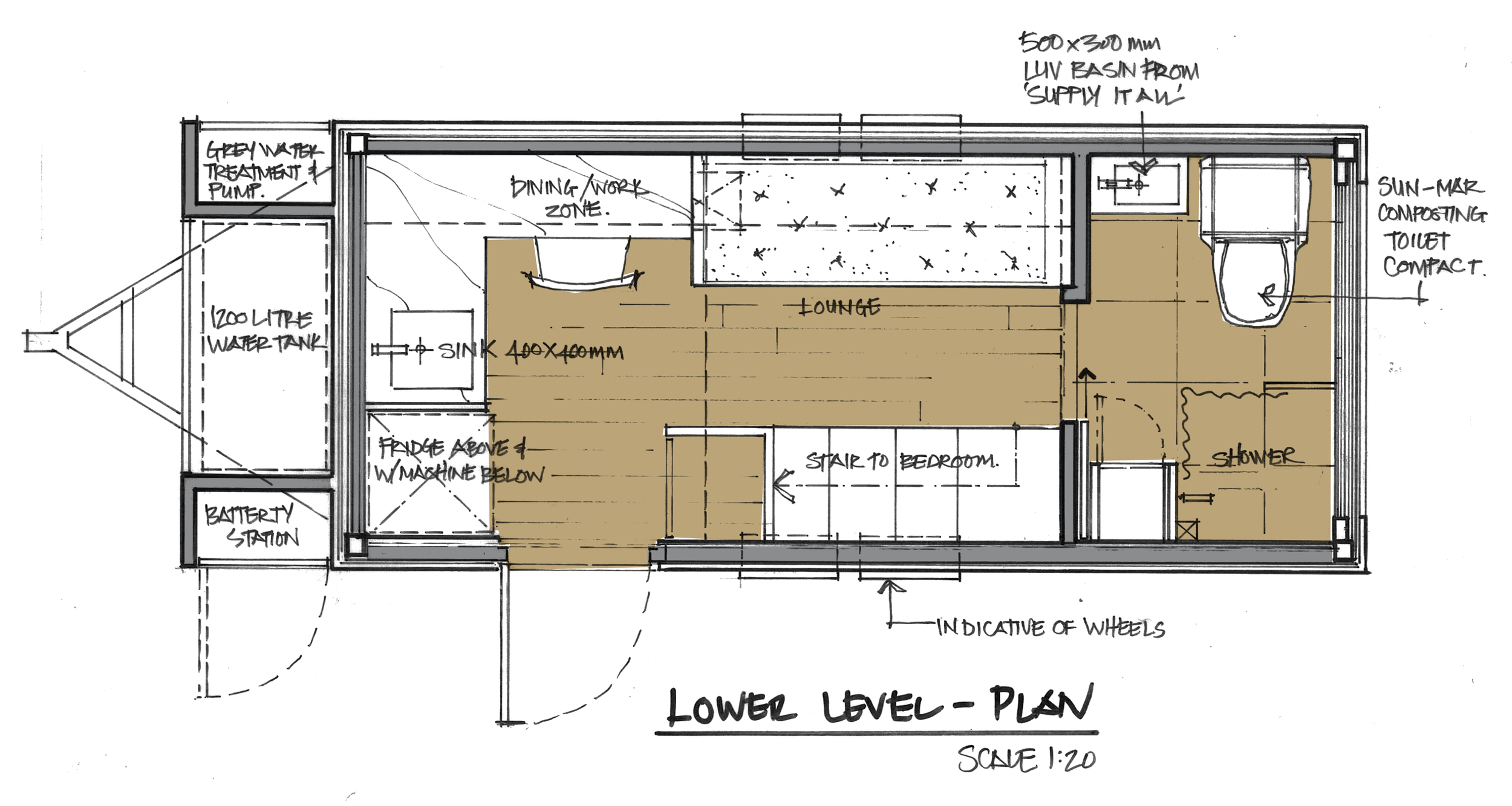 GROUND FLOOR SKETCH PLAN