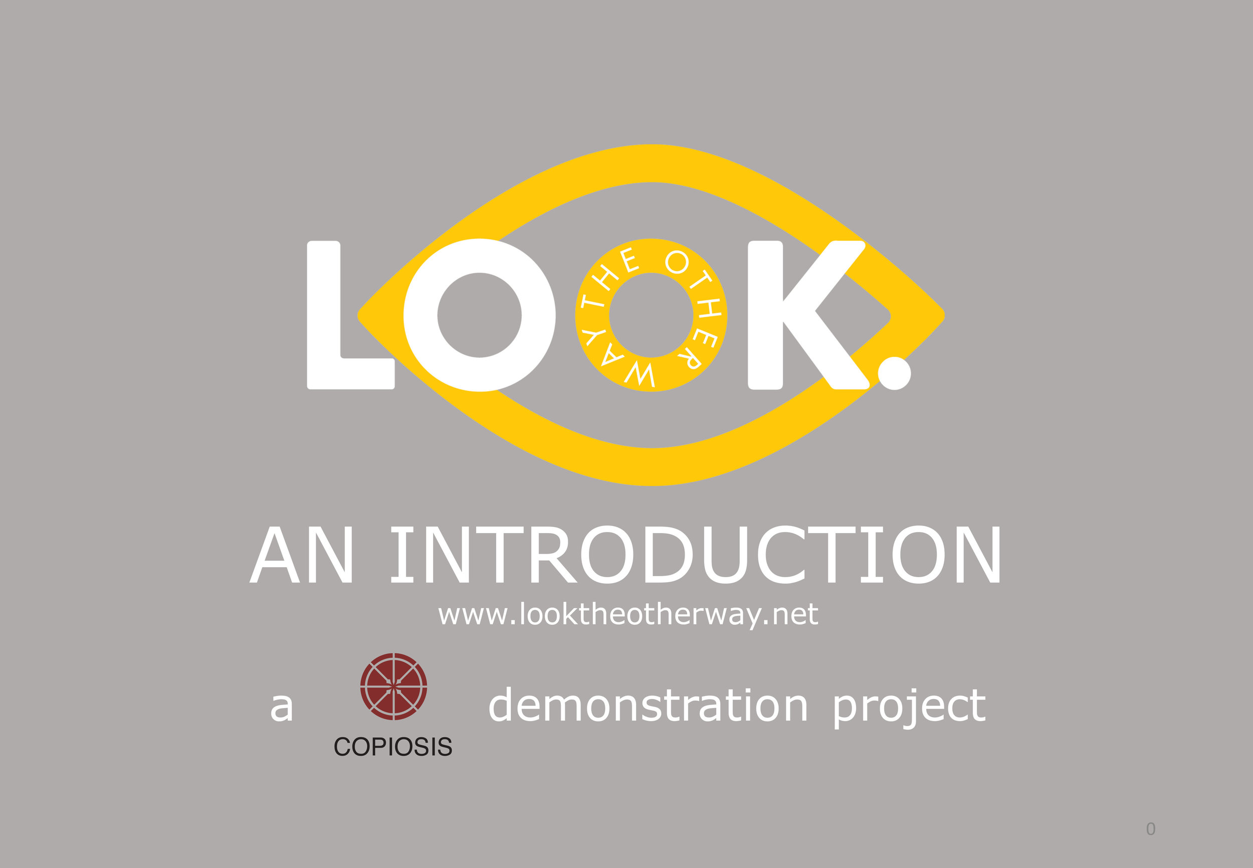LOOK. An Introduction - Click Image to view PDF Document