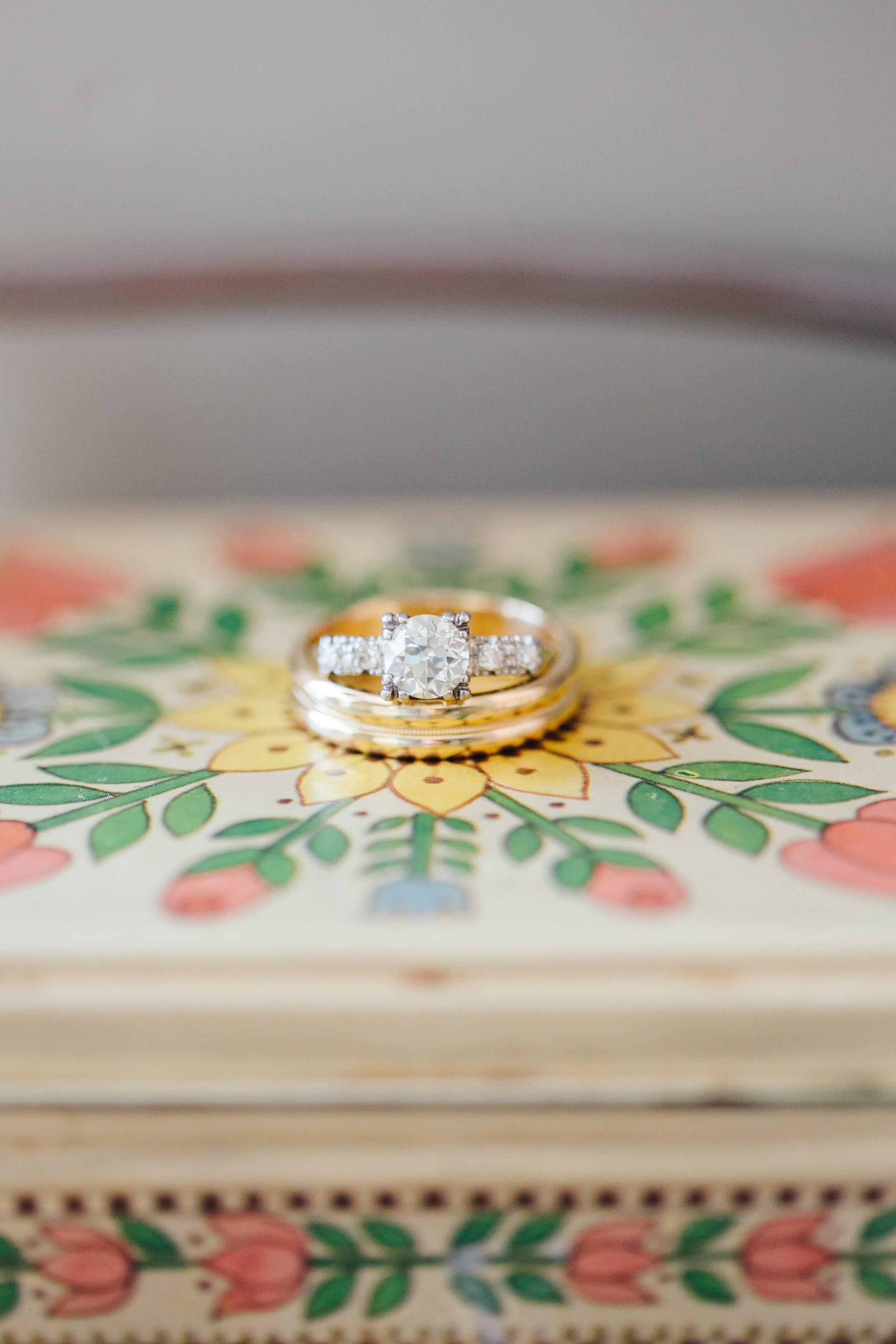 Engagement and Wedding Rings Little Thompson Valley Pioneer Museum Berthoud Colorado Wedding