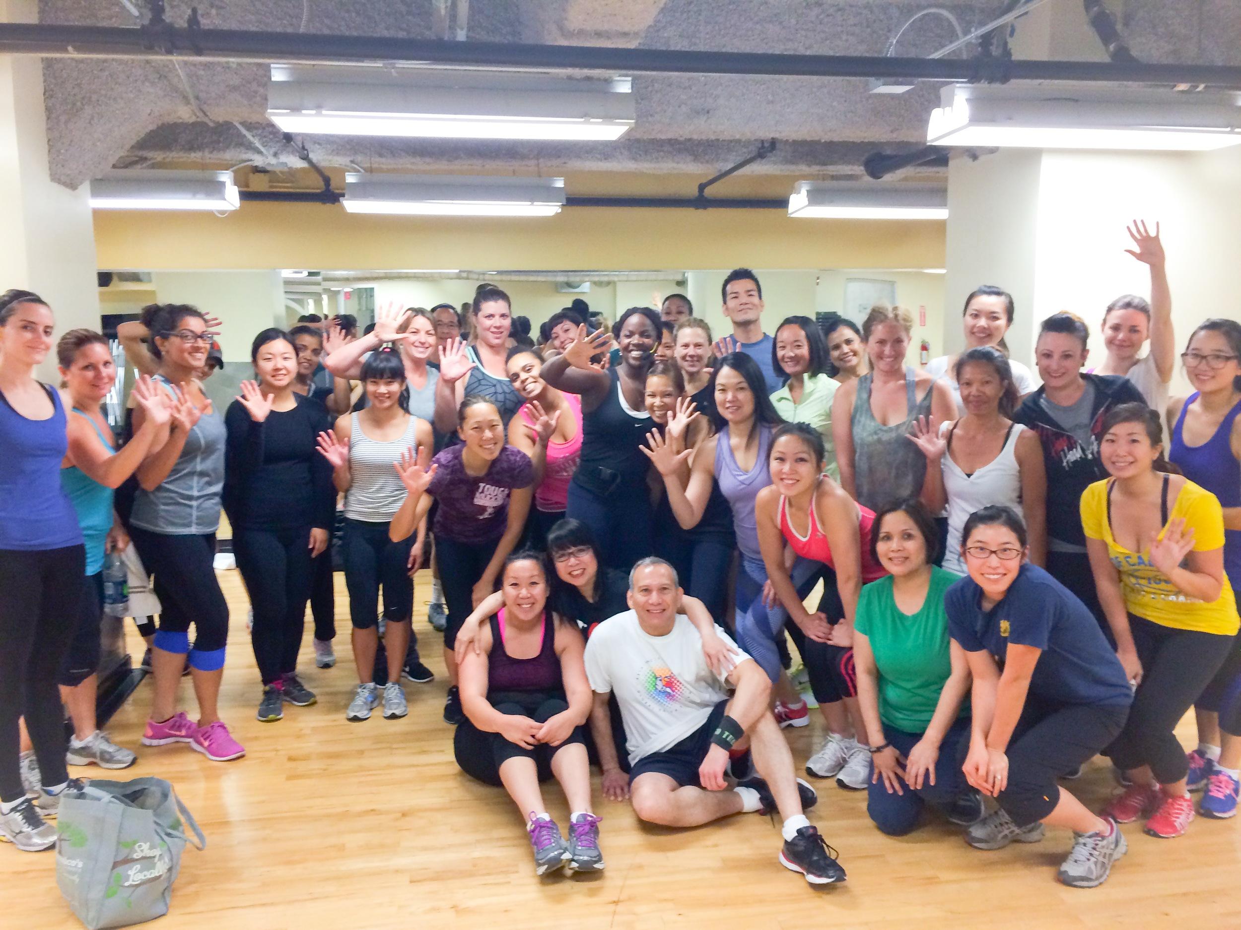 Celebrating 5 years with my San Francisco Turbo Kick Crew (July 2014)