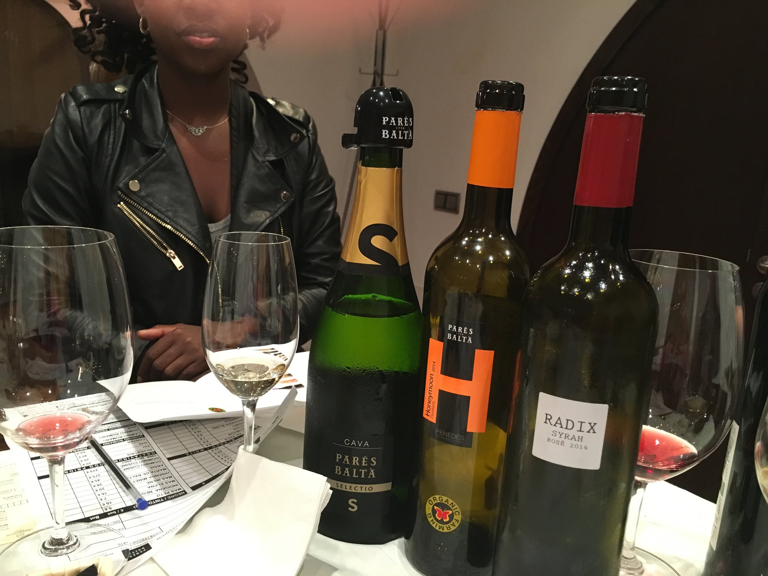 I ordered several bottles of the wine from he Parés Balta tour. The wine arrived just in time for Thanksgiving. I was looking forward to it and found out I was pregnant! :-) No wine for me!!!!