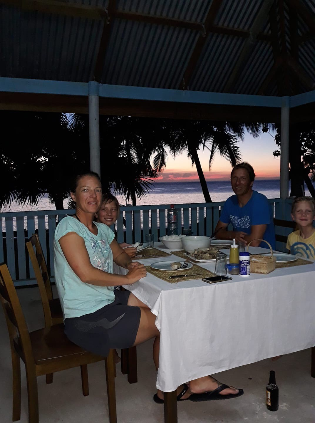 - It was a truly magic experience. The family is amazing and have a great sense of hospitality. There are obviously lots of differences if comparing to a resort. However for what it is, its amazing. It really is a little gem. So I'm hesitant to recommend the hell out of it in fear it will be overrun next time I go there, which I will for sure!Ohh and the swell…. Unreal. 5 days of pumping to really scary waves. The first 3 days it was perfect 4-6 ft uncrowded and the last 2 days it bumped up to 8-10 ft, with me and 3 other guest out…Feedback in one word: EPIC!~ KasperJune 2019