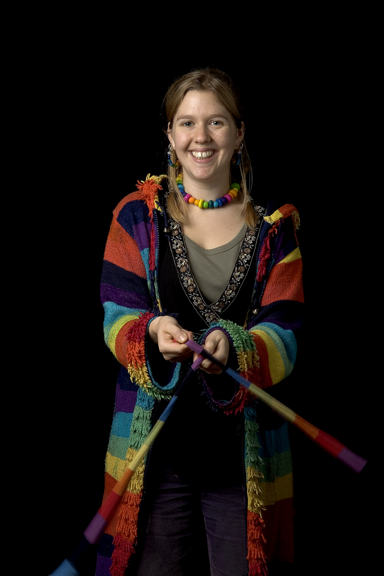 Juggler, National Centre for Circus Arts, London. Portrait by Anthony OliverJuggler, National Centre for Circus Arts, London. Portrait by Anthony Oliver