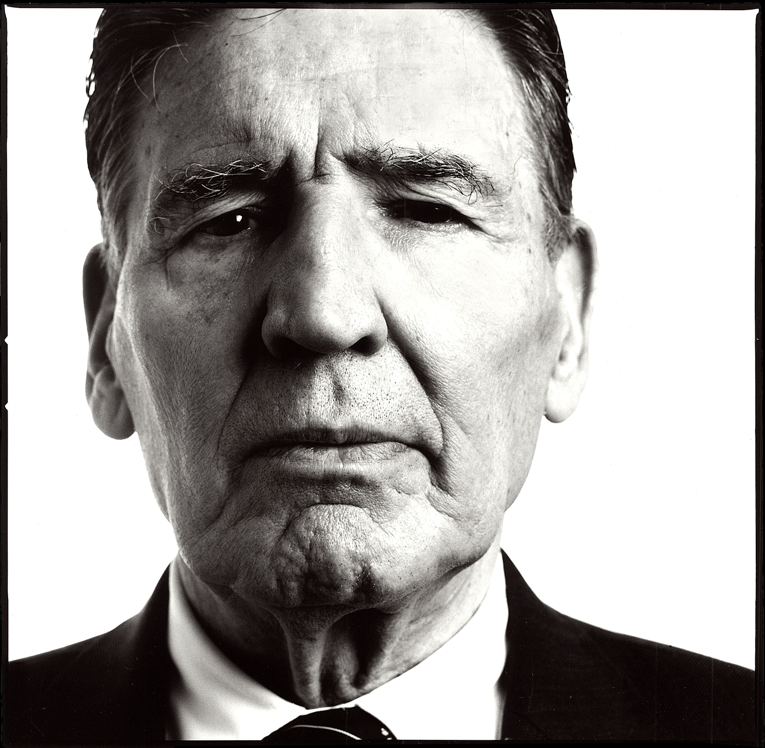 Mad Frankie Fraser, From Cons to Icons Exhibition. Portrait by Anthony Oliver