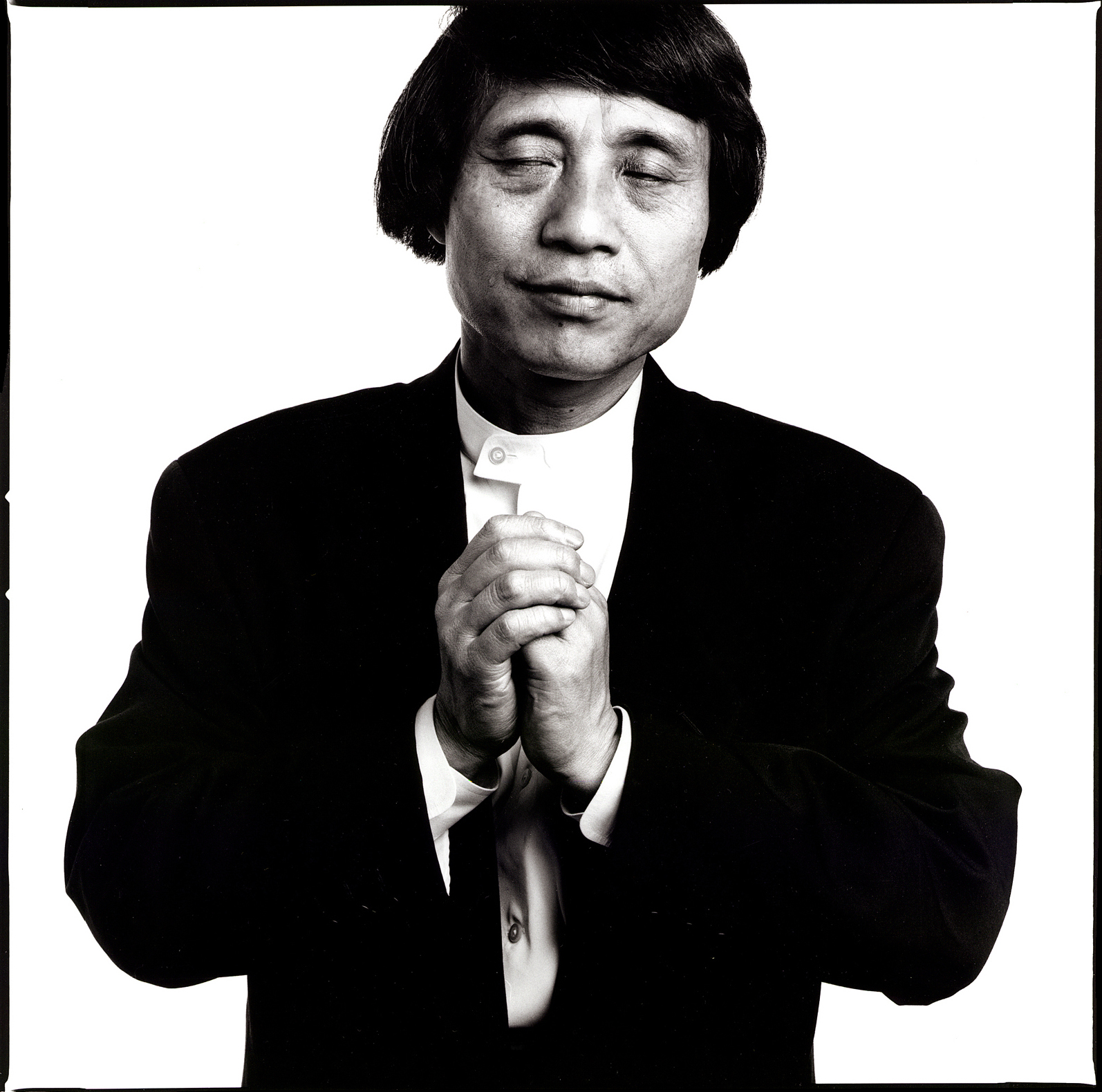 Tadao Ando, RIBA gold medal winner. Portrait of the Architect by Anthony Oliver
