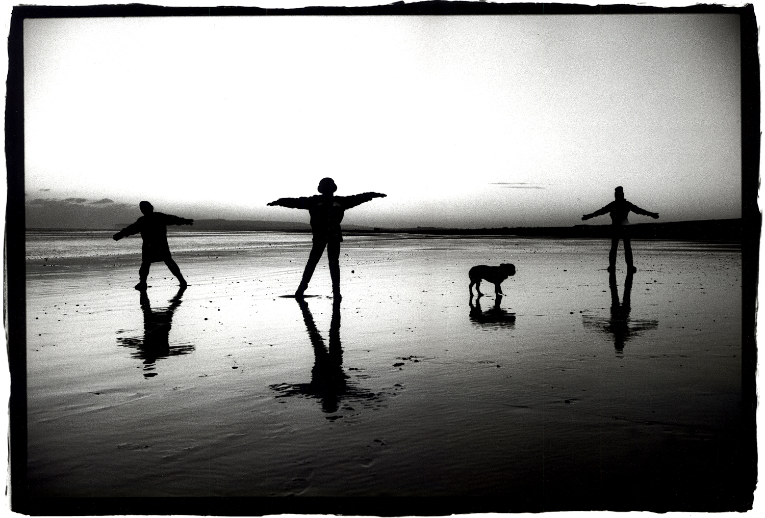 Camber Sands, Winter.  Portrait by Anthony Oliver