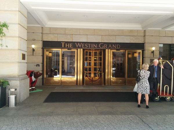 Hotellet der sluttscenene finner sted