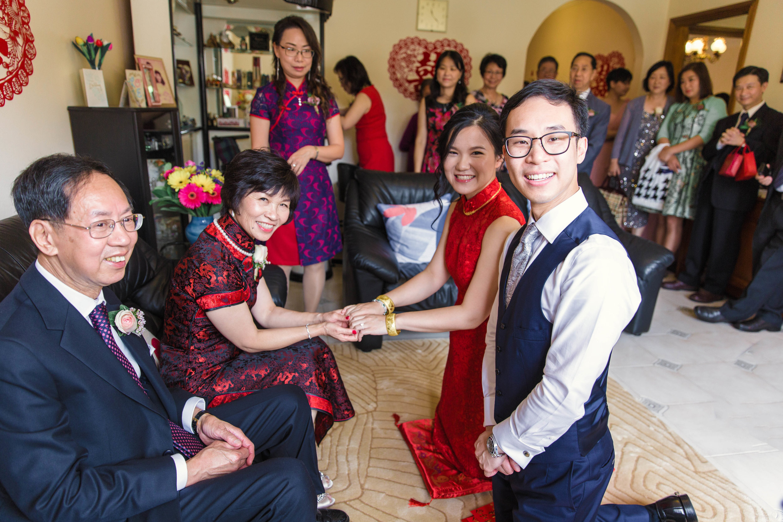 Photographed With Love Chinese Tea Ceremony Wedding Photography Sydney