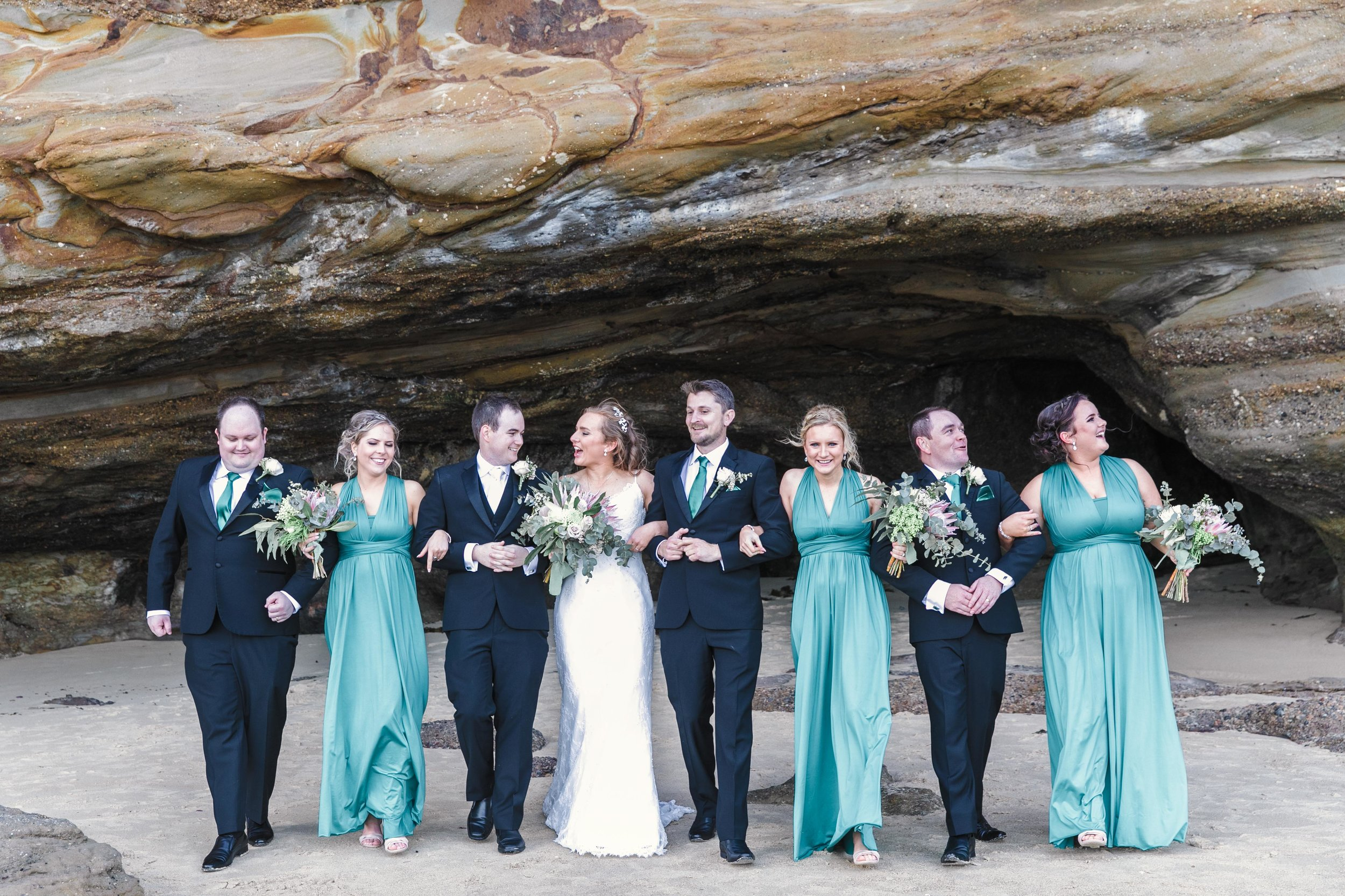 Photographed With Love Candid Wedding Photography Caves Beach