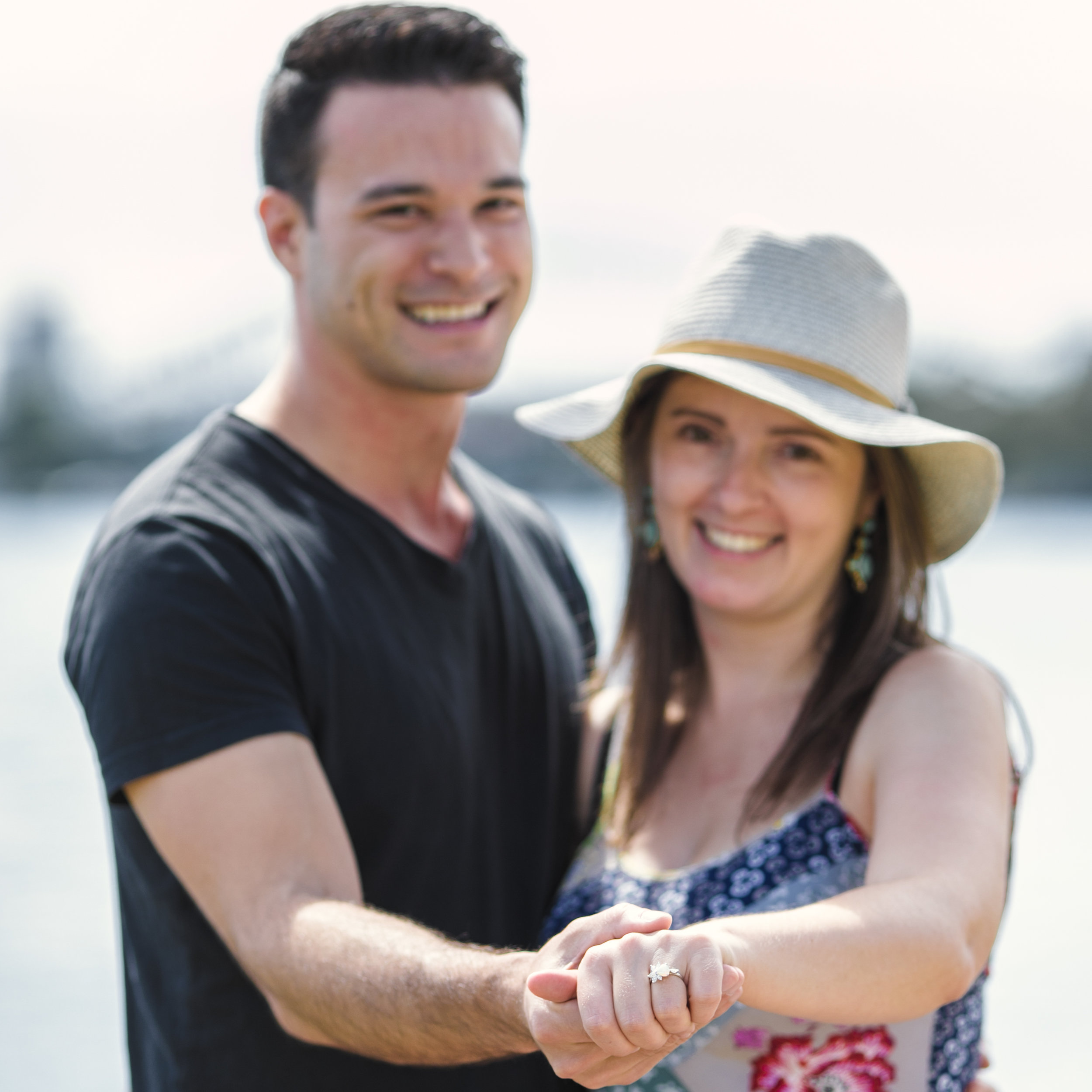Photographed with love surprise proposals sydney