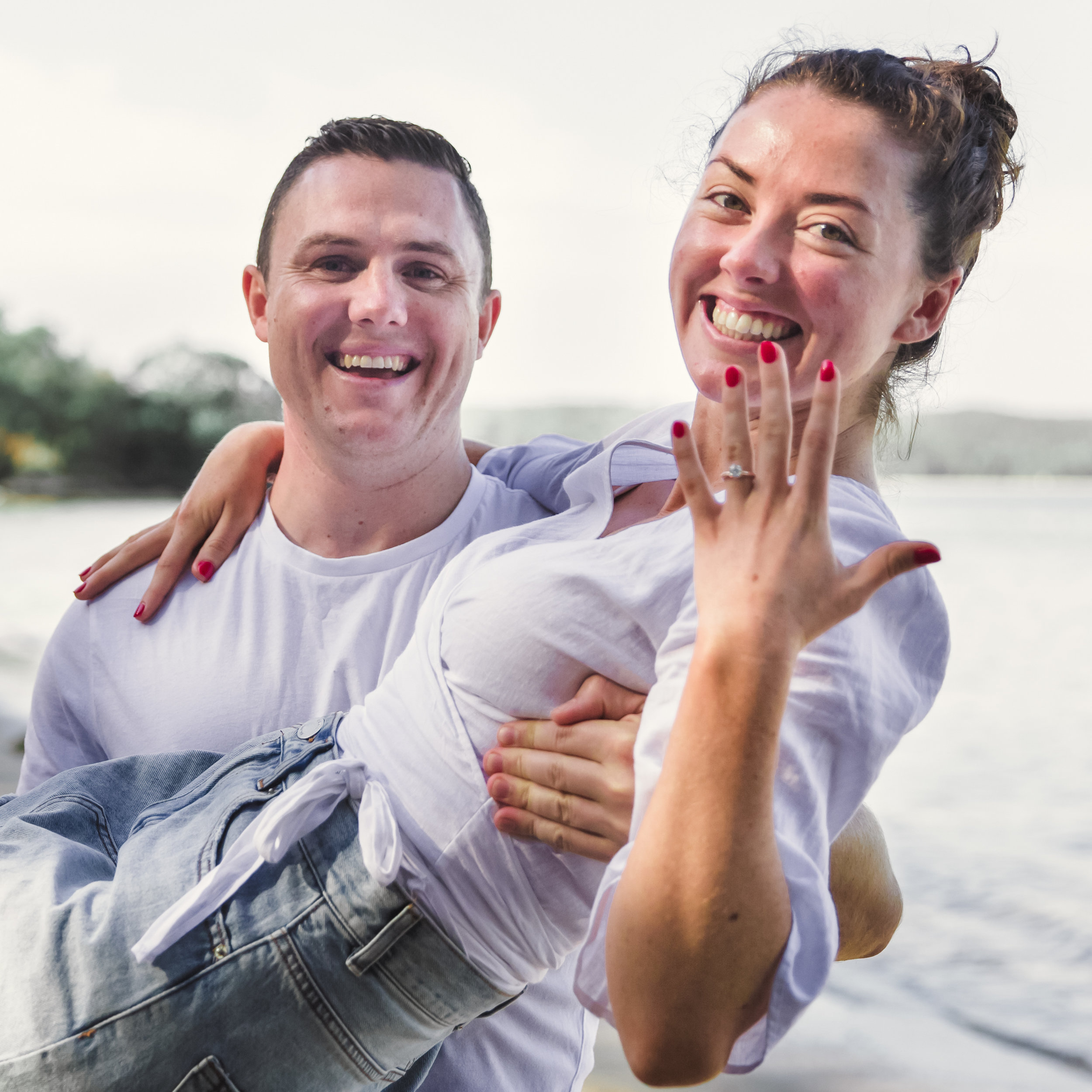 Photographed with love surprise proposal photography sydney