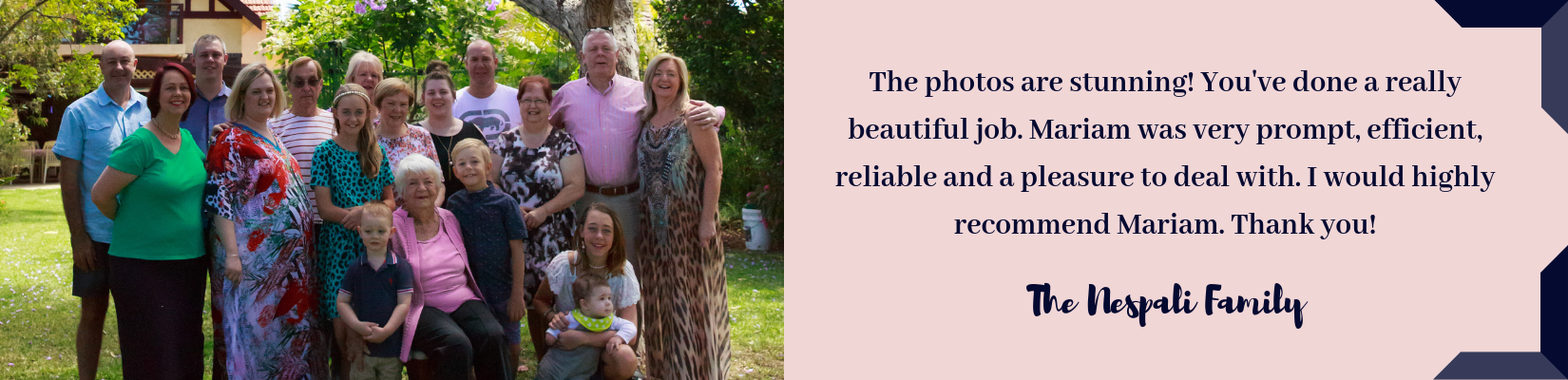 Photographed With Love - Sydney Family Photography Review