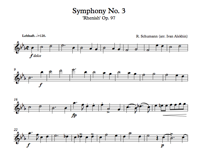 R.Schumann Symphony No 3 (click to download)