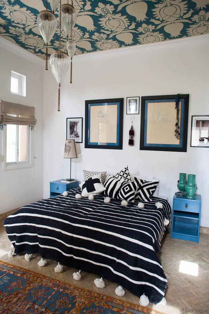 modern moroccan style // via Habitation Co.