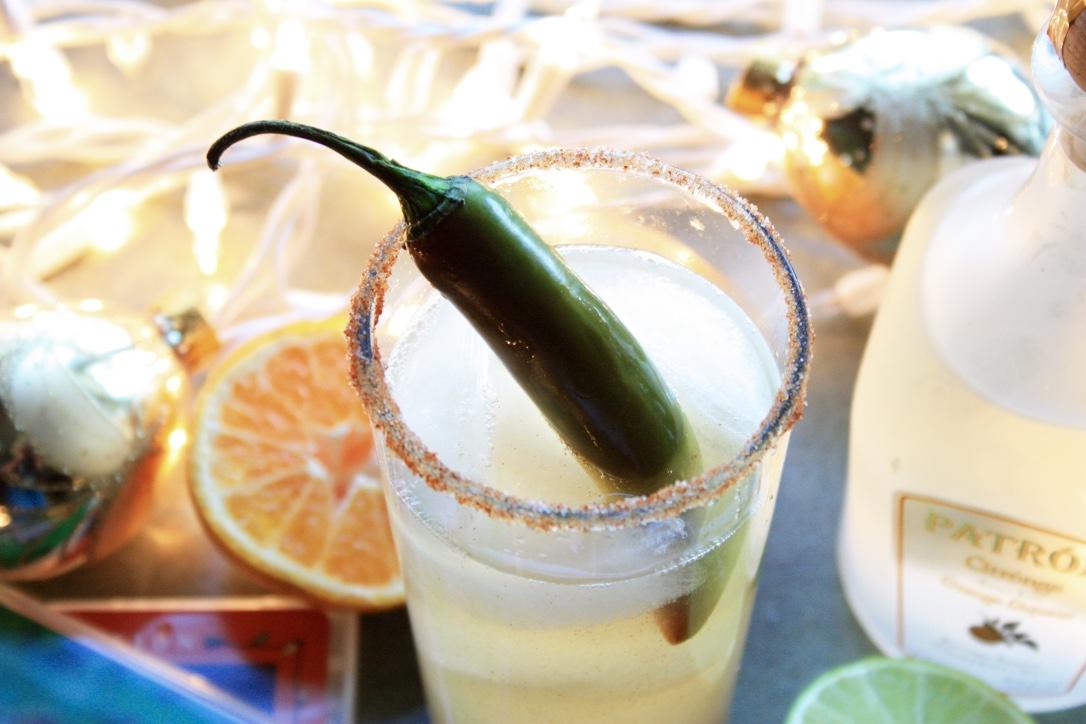 Netflix & Chili Jalapeno Margaritas // Holiday Cocktail Recipe // Habitation Co.