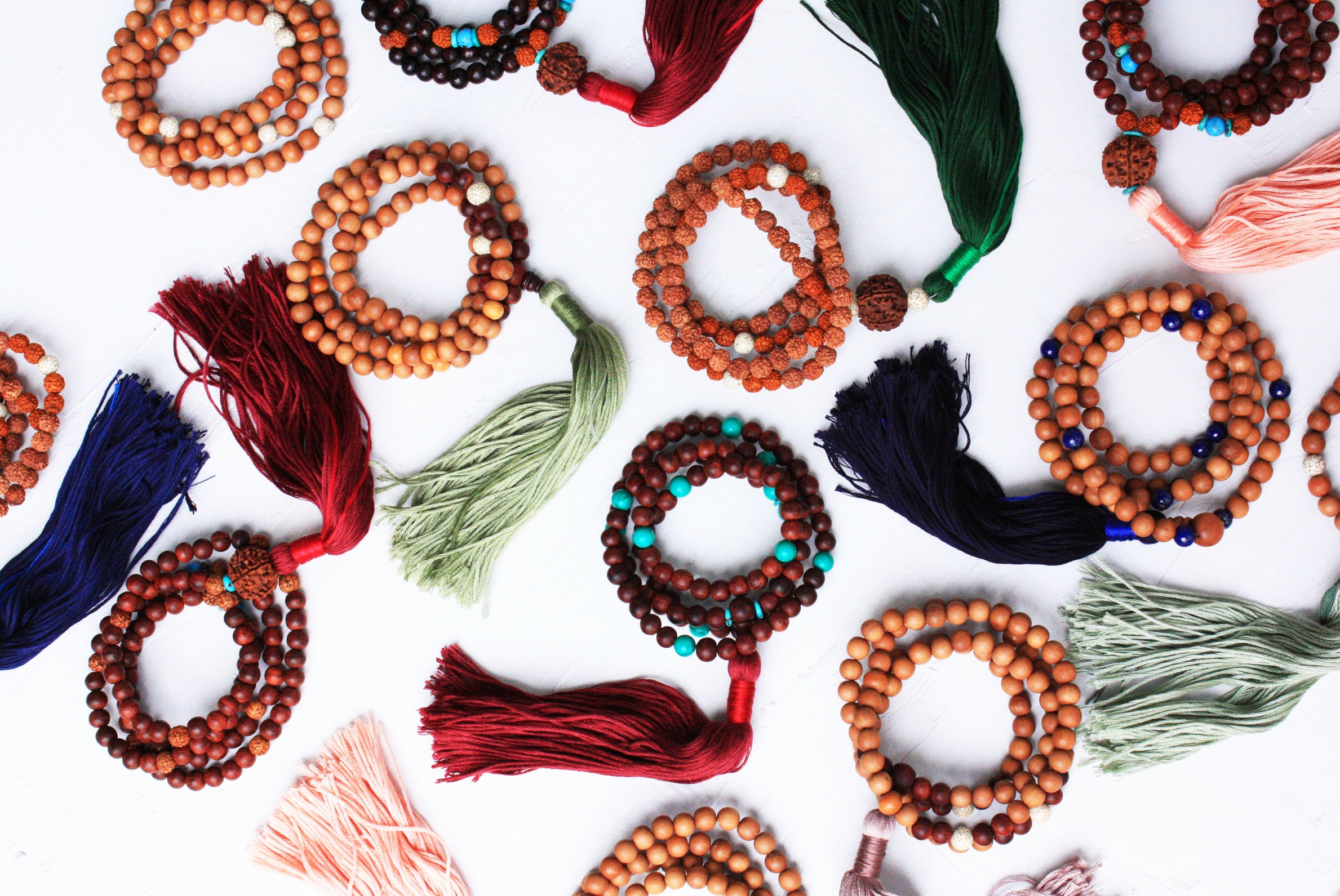 About the Process: Handmade Malas From The Himalayas // Habitation Co.