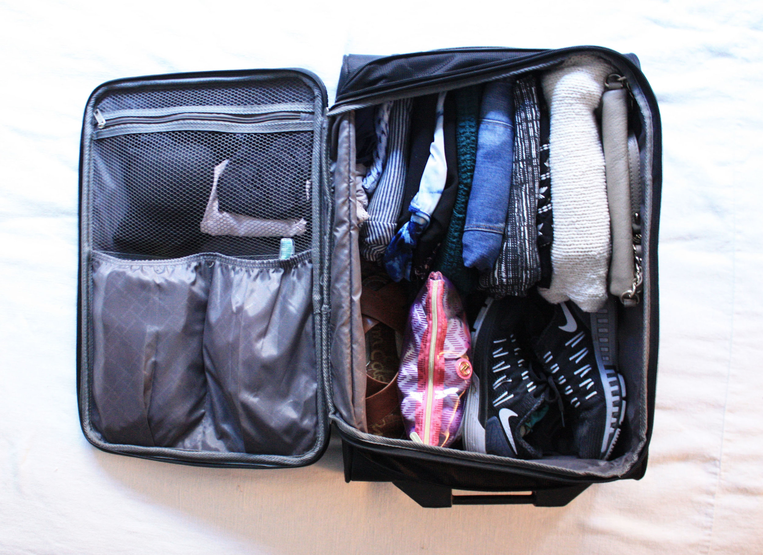 Packing a Carryon for a Weekend in California Wine Country // Habitation Co.
