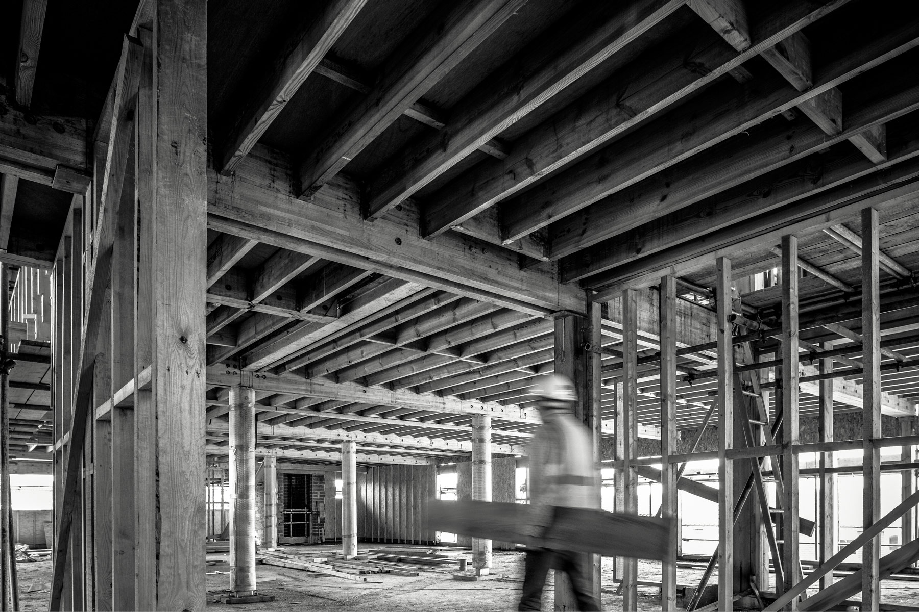 Construction photography.