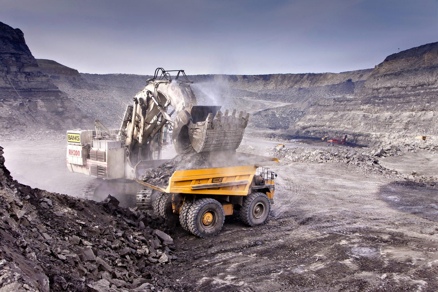 International mining photographers.