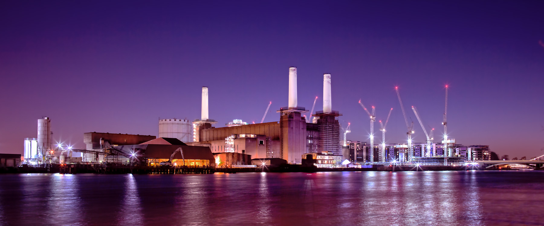 Battersea Power Station, architectural photography.