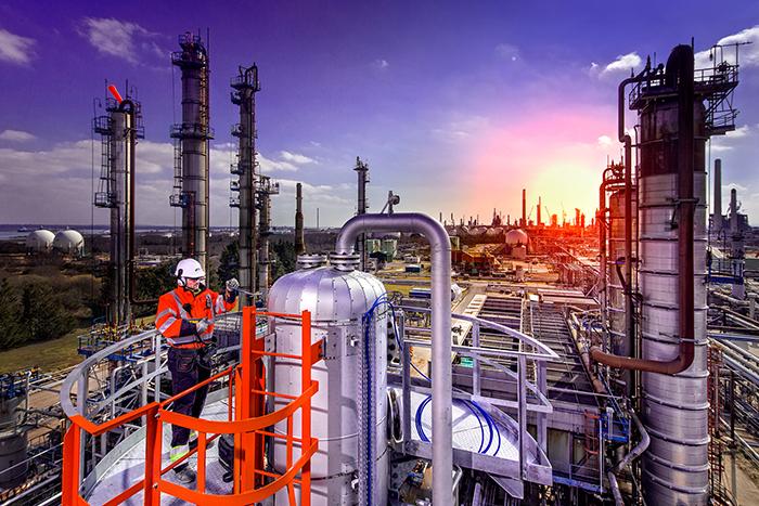 Petrochemical shoot.