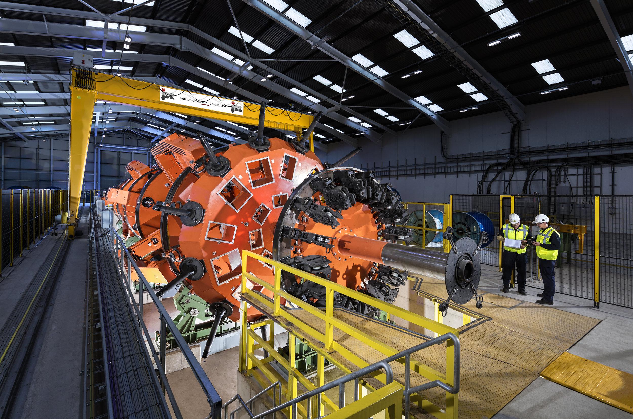Planetary Stranding Machine, UK.