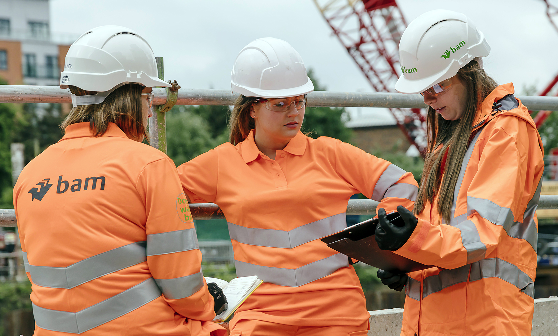 Women in  Construction & Engineering.