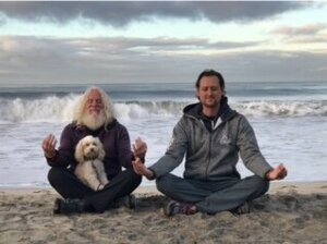 Sunrise ocean meditation with the one and only, davidji.