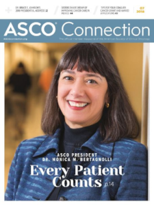 "ASCO Connection July 2018 ""2018-2019 ASCO Health Policy Fellows Prepare for the Year Ahead"""