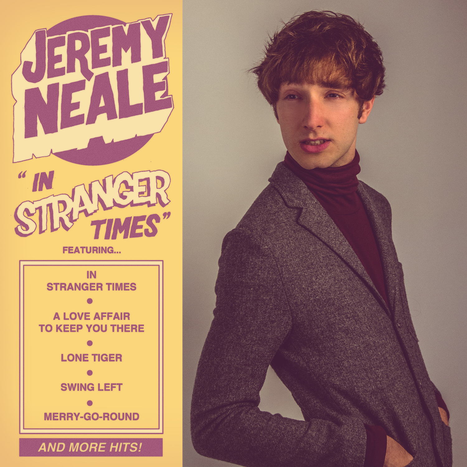 Jeremy Neale EP Cover (Typography by Sam McKenzie)