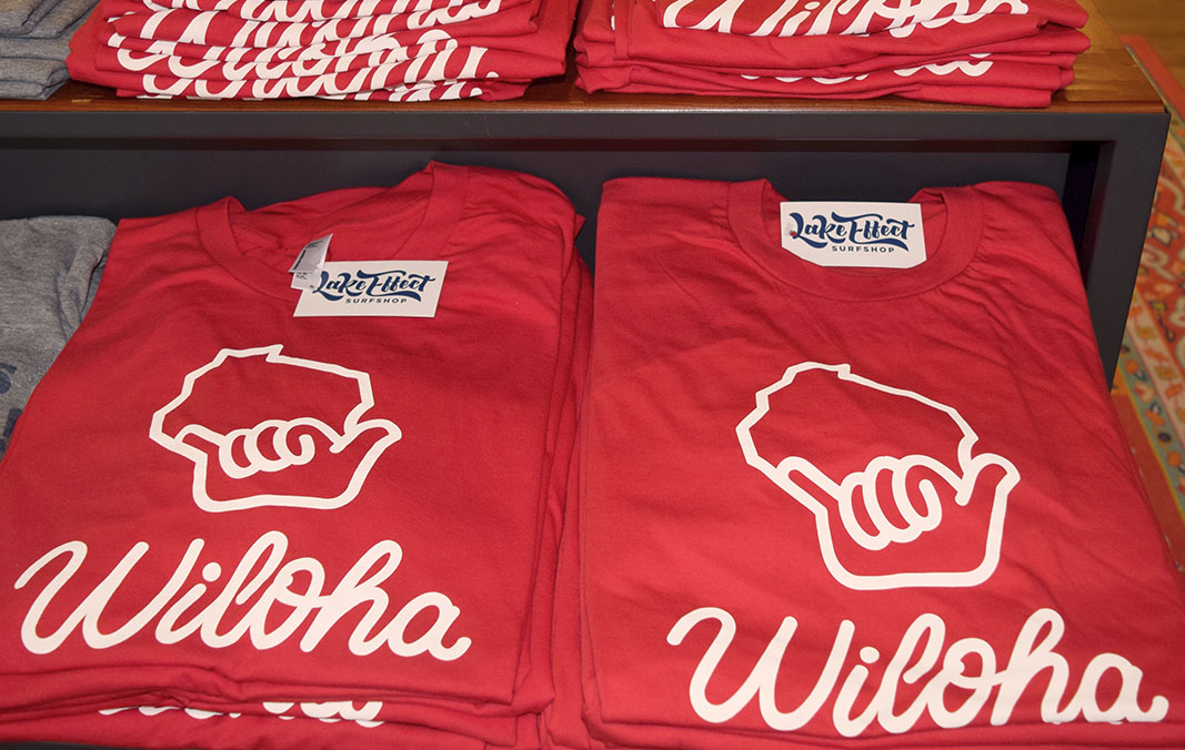 Wiloha shirts are on the shelves!