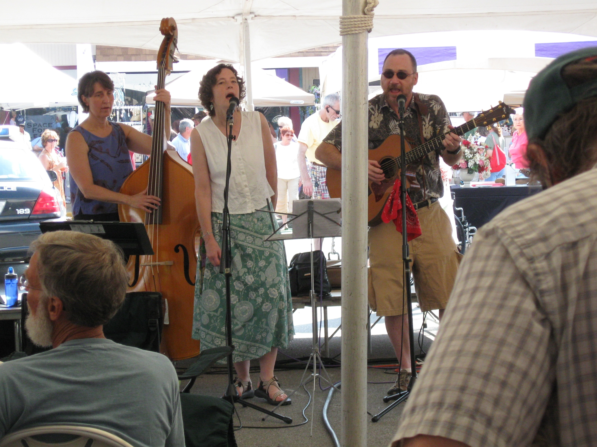 Performing at the Lavender Festival with Kathleen McGregor Williams 2012.