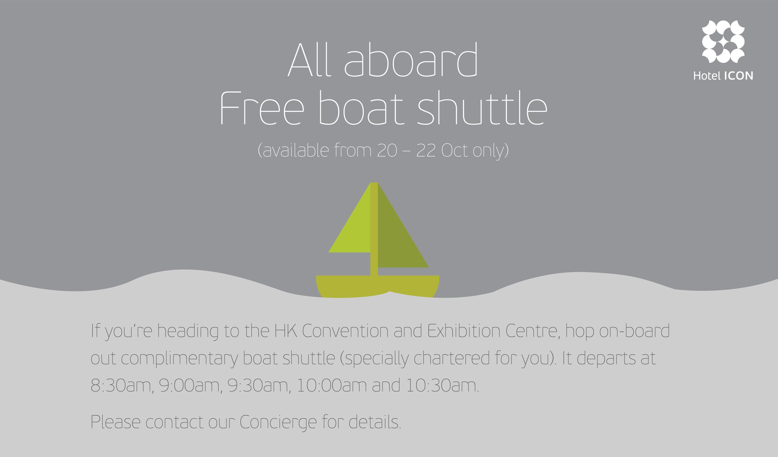 Shuttle Bus signage design