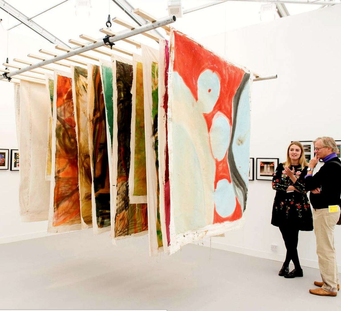 Proyectos Ultravioleta booth at Frieze Art Fair, London, 2016