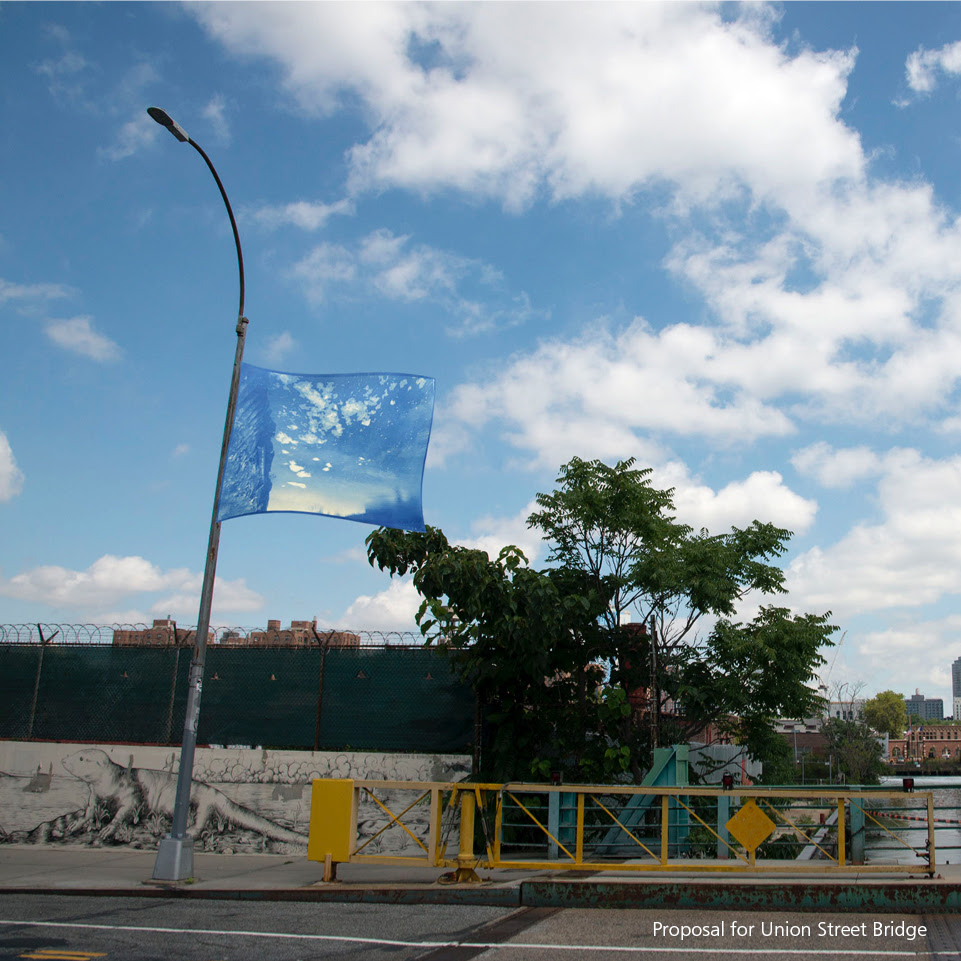 "Katarina Jerinic ""Cloud Drift"" in Gowanus"