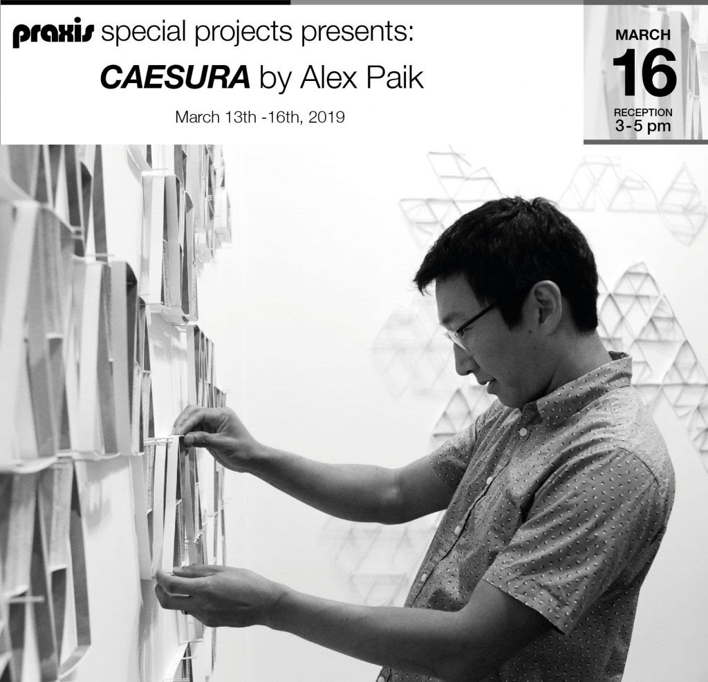 Alex Paik Solo Art Exhibit Chelsea