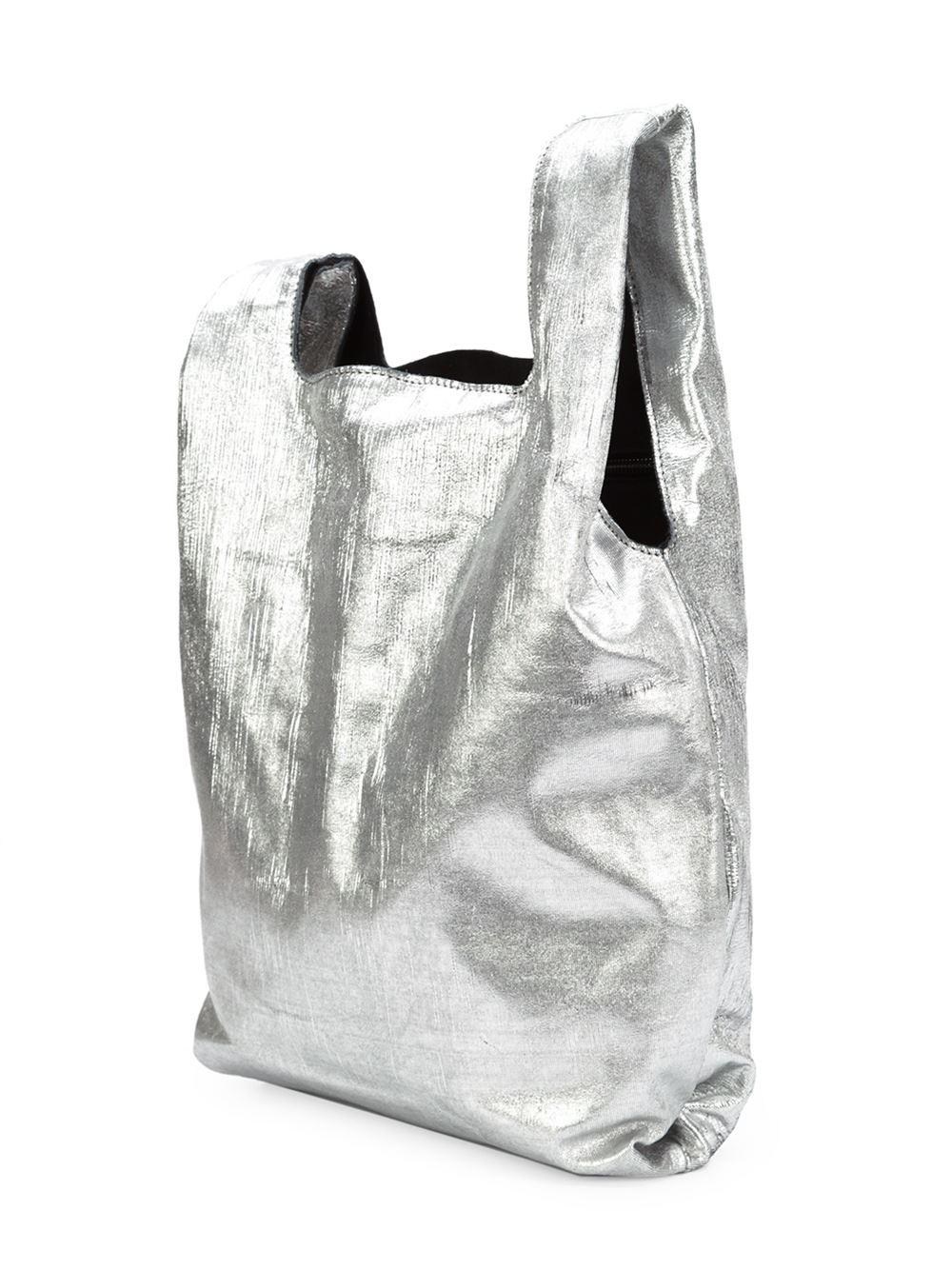 Maison Margiela Distressed Shopping Bag $1,390.