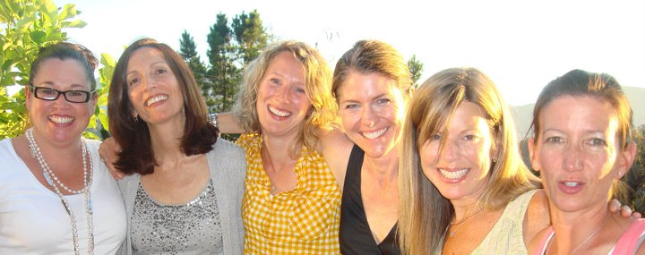 The BYOD girls on my deck in 2011.