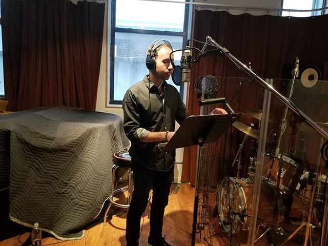 It is always a great day creating behind the mic. • • • #newmusical #work #music #recording #heart #soul #newsounds #work #flow #art #passion #create #creating #love #peace #joy #ppistudios #singer #actor #recording #artist #adamrossglickman #adamrossofficial #nyc #instagood #studio #theater  #recordingstudio #musical