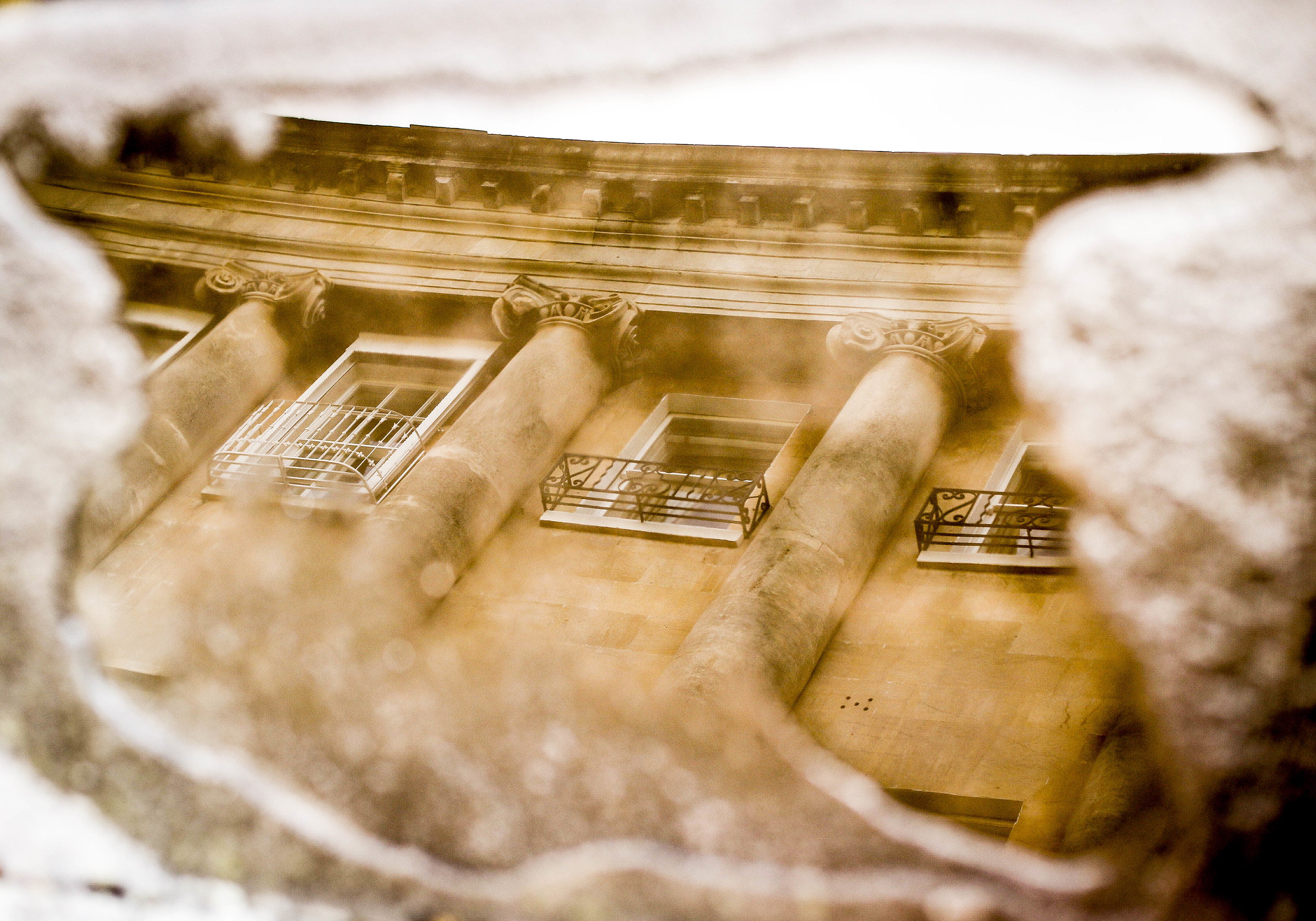 Roman reflections  Bath UK