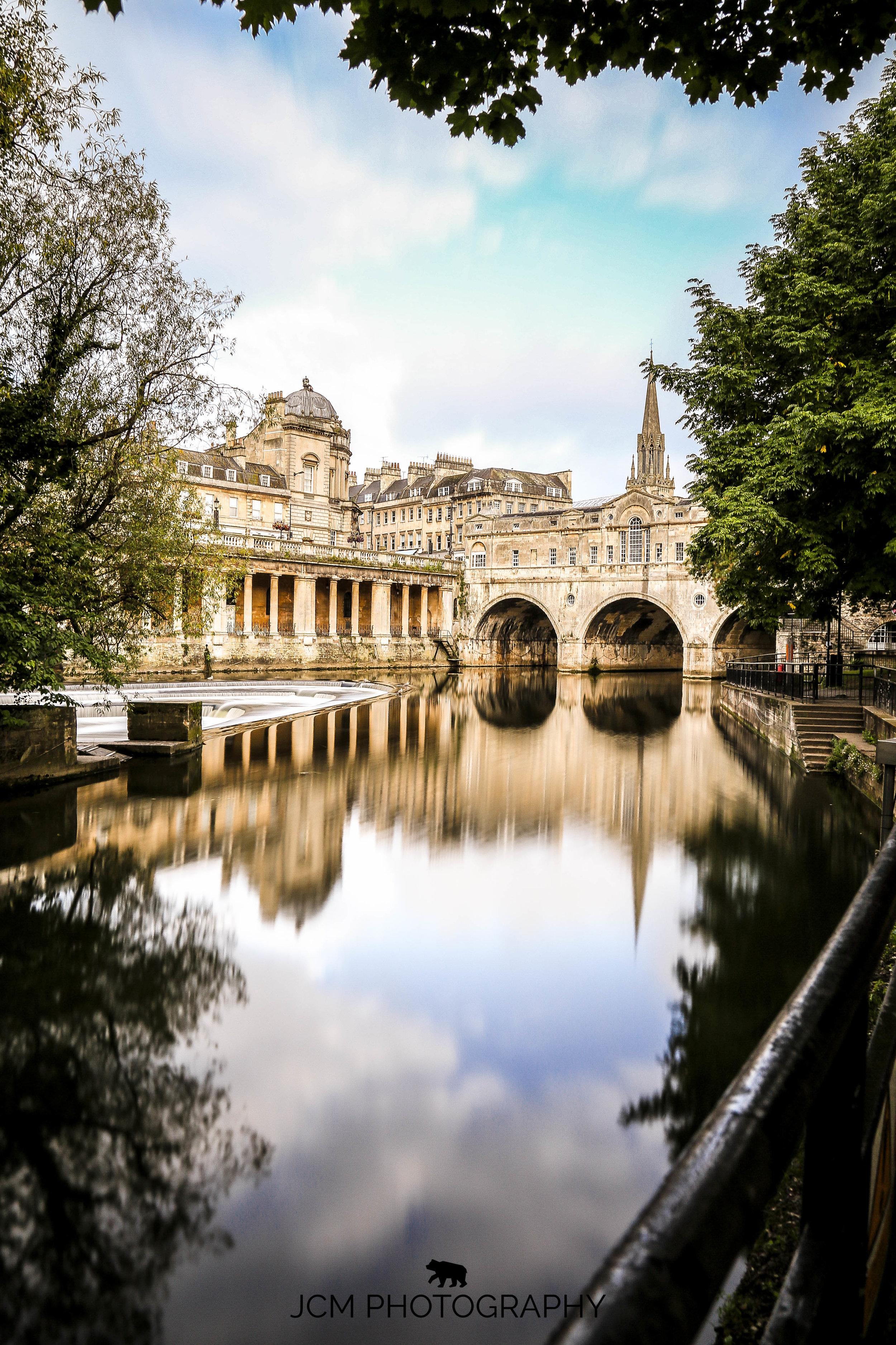 Flowing water  Bath UK