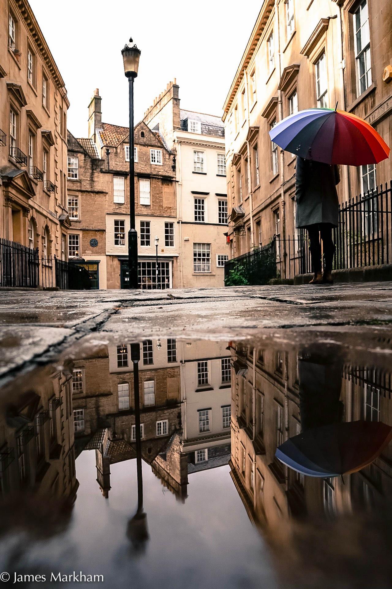 Colourful reflections  Bath UK