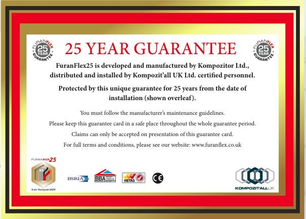 Furanflex25-guarantee-certificate