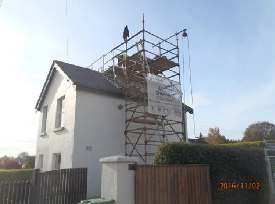 action chimneys chimney repair and relining at roseberry, newbridge