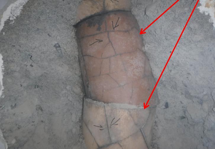 Cracked flues