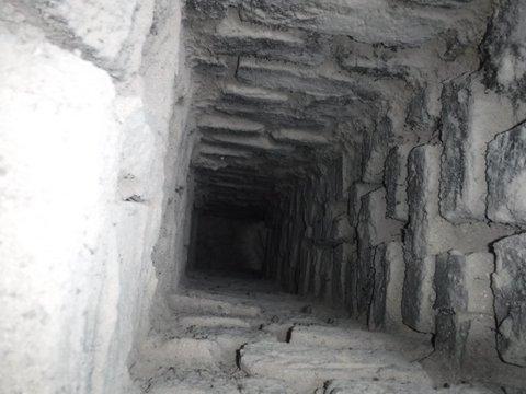 Existing brick chamber