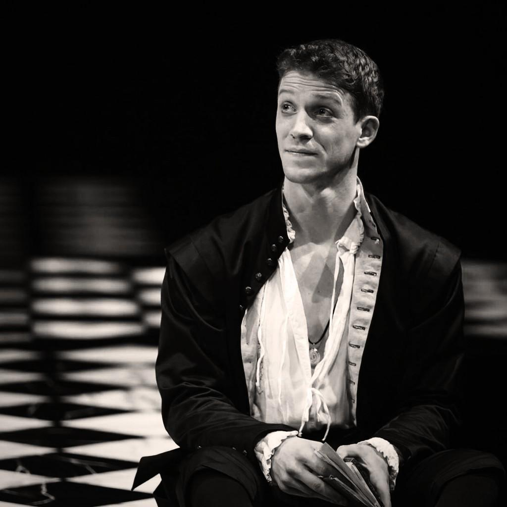 Zach Appelman as Hamlet. Photo by Scott Suchman