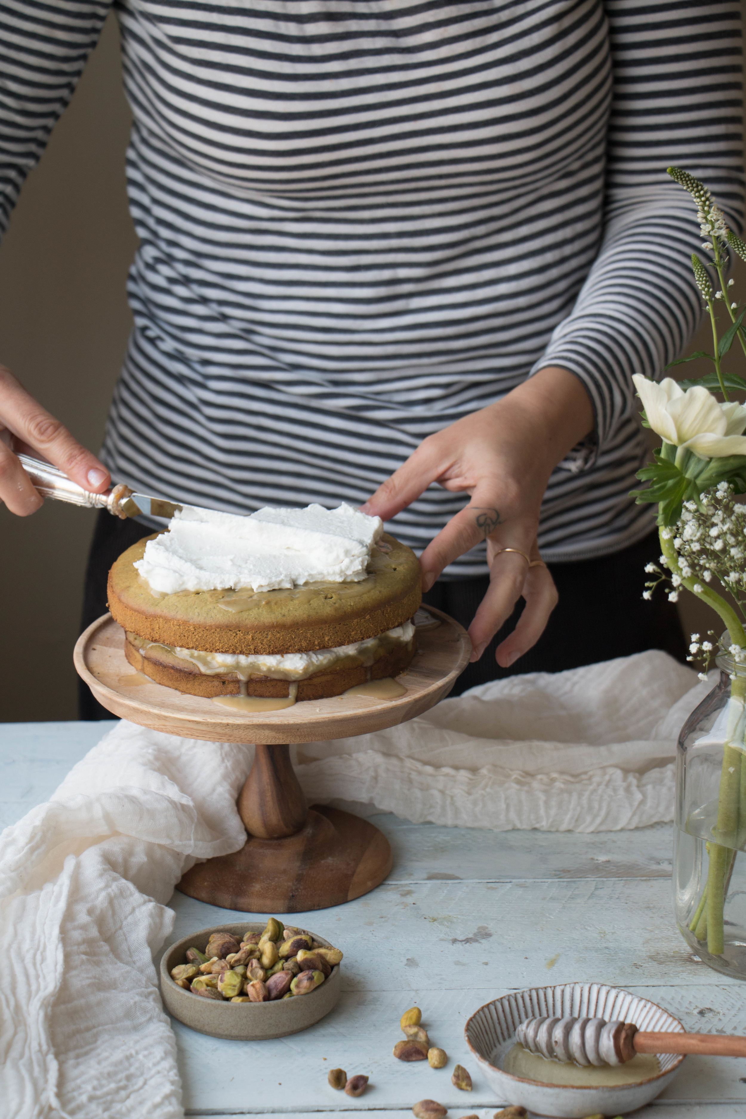 Tres Leches Vegan Cake  - photo by Aimee at twiggstudios.com
