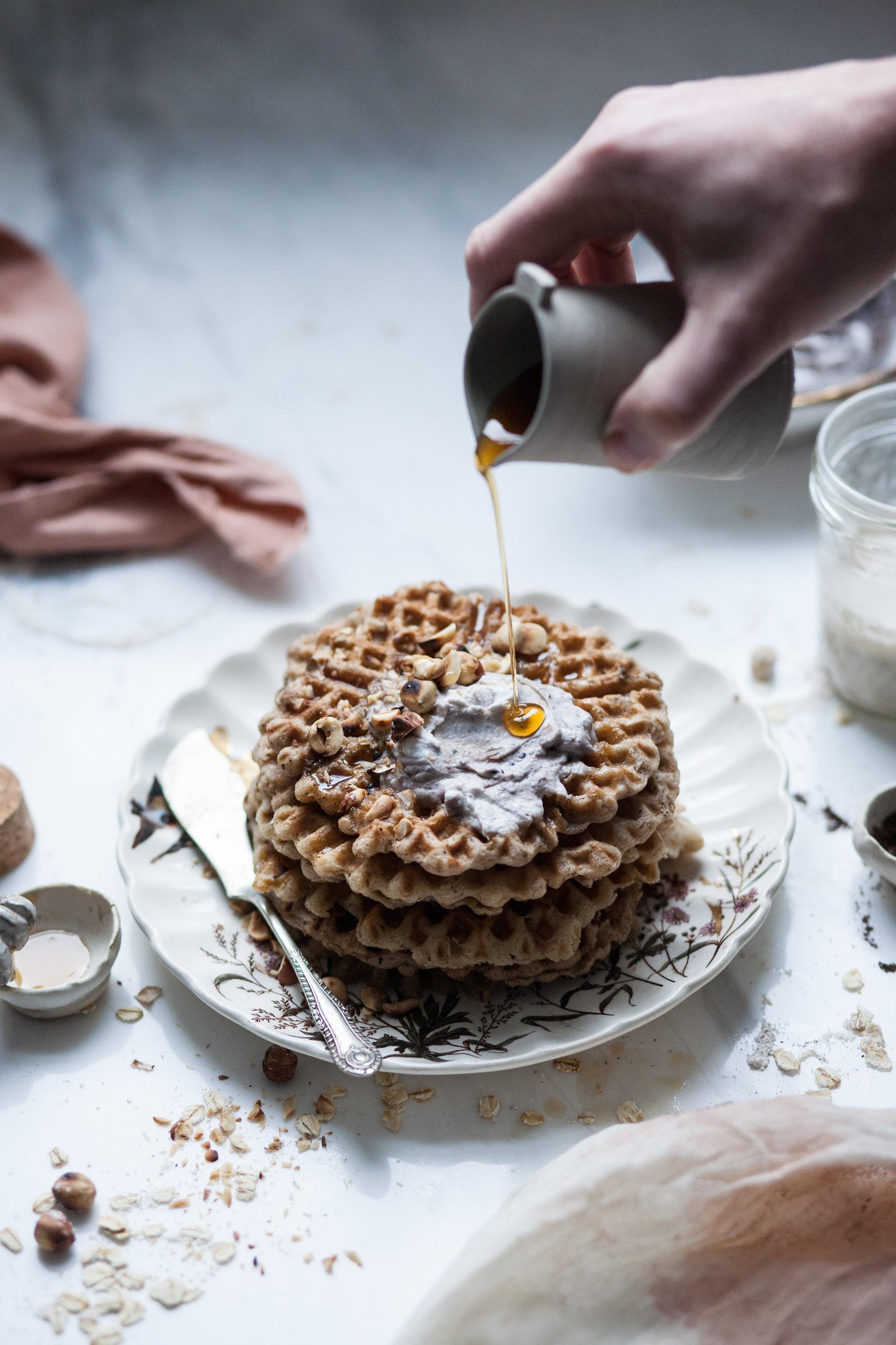 hazelnut waffless_salvialimone